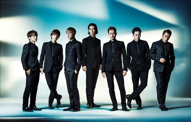 2015年アーティストトータルセールスランキング3位を記録した三代目J Soul Brothers from EXILE TRIBE