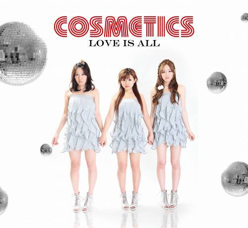 COSMETICSの初CD「LOVE IS ALL」 (c)Listen Japan