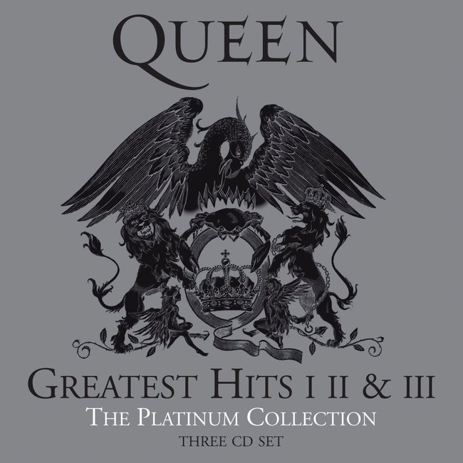Queen『The Platinum Collection』のジャケット写真
