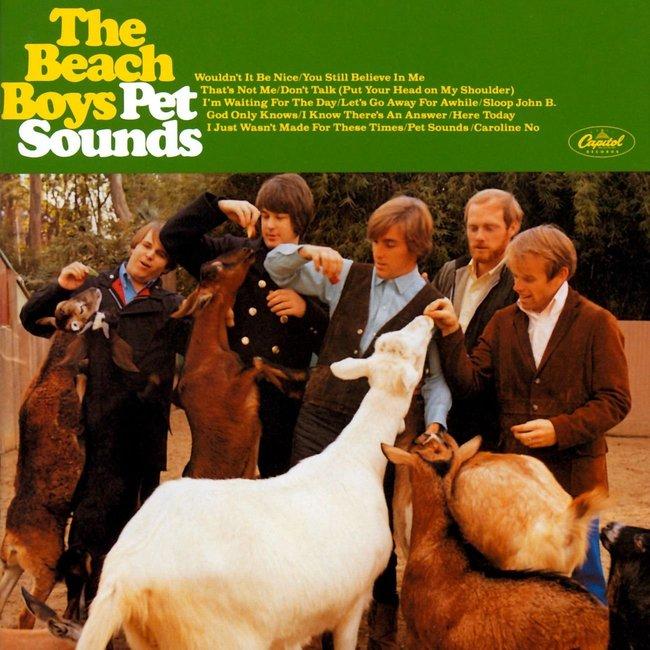 The Beach Boys『Pet Sounds』のジャケット写真