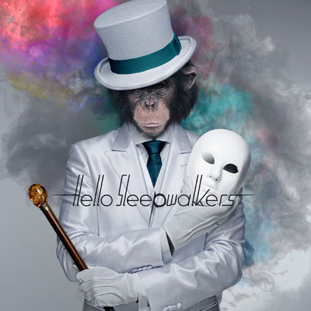 『Masked Monkey Awakening』ジャケット写真 (okmusic UP\'s)