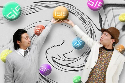 九州地区を中心に支持を得ている2人組POPSグループisis(イーシス) (c)Listen Japan