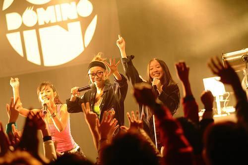 初のワンマンライヴを行ったDOMINO (c)Listen Japan