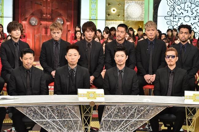 """2016年の「金スマ」スペシャルは、""""18人のEXILE""""最後のTV出演 (c)TBS"""