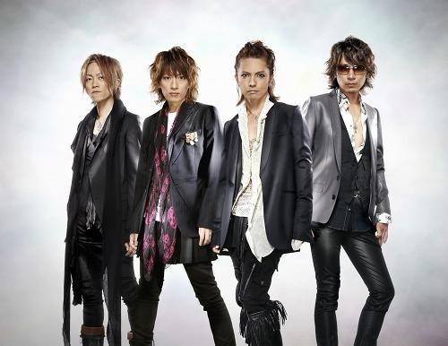 2010年1月にニューシングル発売が決定したL'Arc〜en〜Ciel (c)Listen Japan