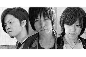 L→R 伊東賢佑(Dr)、鈴木雄太(Vo&Gu)、金野倫仁(Ba)
