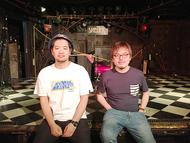 L→R 大橋隼平(新宿SAMURAI 店長)、義村智秋(下北沢SHELTER 店長) (okmusic UP's)