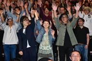 6月25日(日)、一夜限りのプレミア上映会でメンバー初の舞台挨拶 (okmusic UP's)