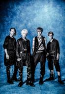L→R テラ(Gu&Programming)、takao(Vo)、鳴風(Gu)、坂本尭之(Ba) (okmusic UP's)