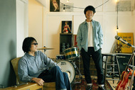 L→R YO-KING(Vo&Gu)、桜井秀俊(Vo&Gu) (okmusic UP's)