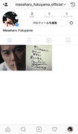 福山雅治公式Instagram (okmusic UP's)