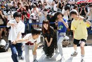 9月2日@お台場 ダイバーシティ東京プラザ フェスティバル広場 (okmusic UP's)