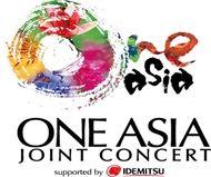『ONE ASIA Joint Concert』ロゴ (okmusic UP's)