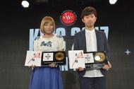 角谷広太さん、坂本理沙さん (okmusic UP's)