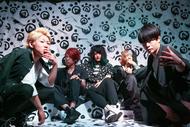 L→R Ryo(Vo)、Sow(Gu)、Talow(Ba)、Kizuki(Dr)、Wataru(Vo) (okmusic UP's)