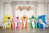L→R 吉田仁人、佐野勇斗、板垣瑞生、山﨑悠稀、塩﨑太智 (okmusic UP's)
