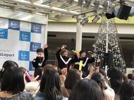 11月19日@ららぽーと新三郷 (okmusic UP's)