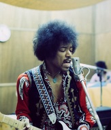 JIMI HENDRIX photo by Chuck Boyd (okmusic UP's)