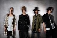 L→R Kiara(Ba)、Ryosuke(Vo&Gu)、Tatsuya(Dr)、Ryo(Gu&Scream&Programming) (okmusic UP's)