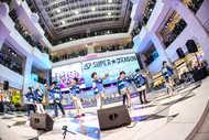 2018年1月31日(水)@東京・池袋サンシャインシティB1 噴水広場 (okmusic UP's)